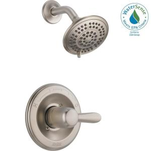 lahara roman tub faucet. Lahara 1 Handle Spray Shower Faucet Trim Kit in Stainless  Valve Not Delta 2 Deck Mount Roman Tub Only