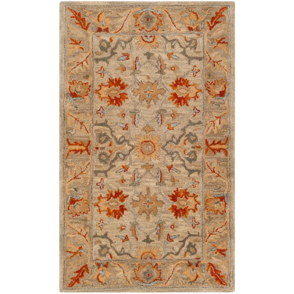 Antiquity Beige/Multi 3 ft. x 5 ft. Area Rug