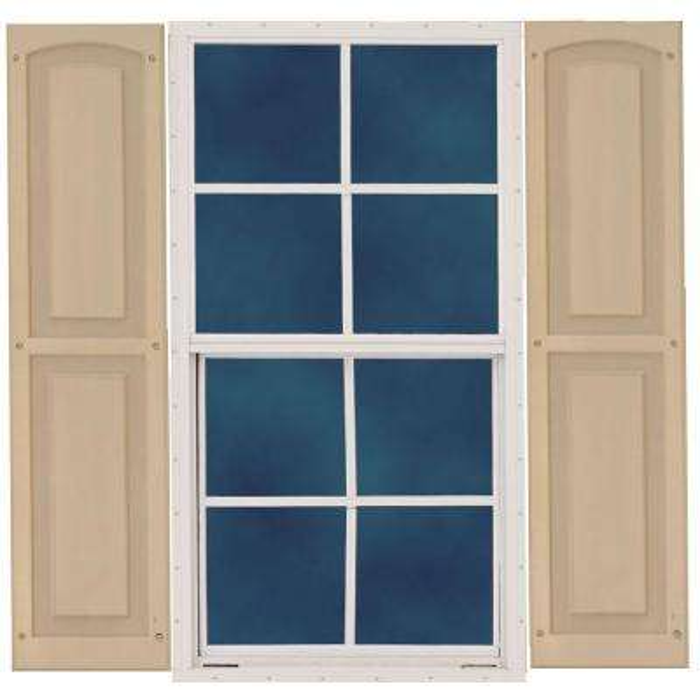 18 in. x 27 in. Window with Shutters