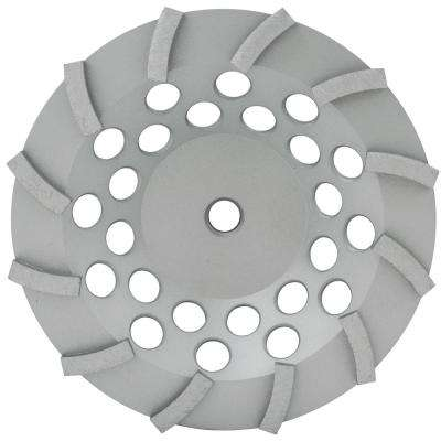 7 in. Spp Series Segmented Turbo Cup Wheel Wet/Dry 7/8 in. -5/8 in. -12 Segments