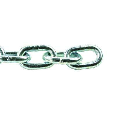 3/16 in. x 1 ft. Grade 30 Zinc Steel Plated Proof Coil Chain