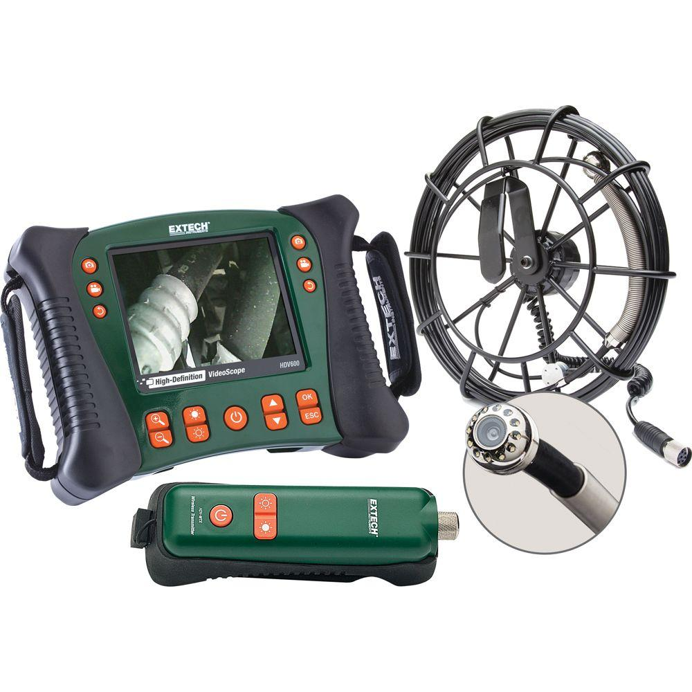Wireless Plumbing Videoscope Kit with 30 Meter Cable