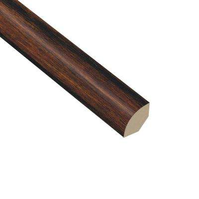 Strand Woven Bamboo Sable 5/8 in. Thick x 1 in. Wide x 94-1/2 in. Length Vinyl Quarter Round Molding