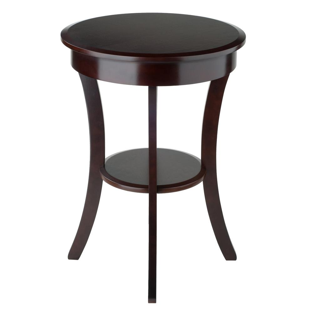 757ba196ad0c Winsome Sasha Round Accent Table-40627 - The Home Depot