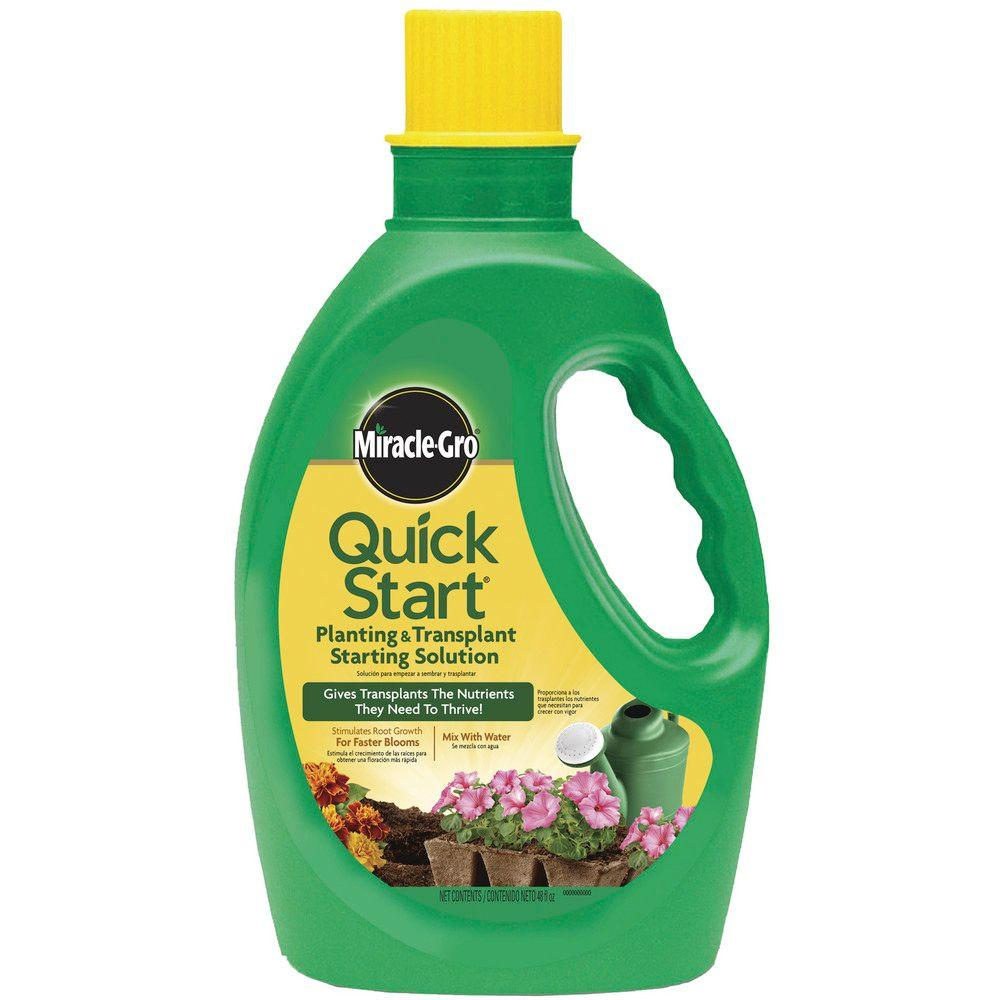 Miracle-Gro 48 oz. Quick-Start Planting and Transplant Starting Solution