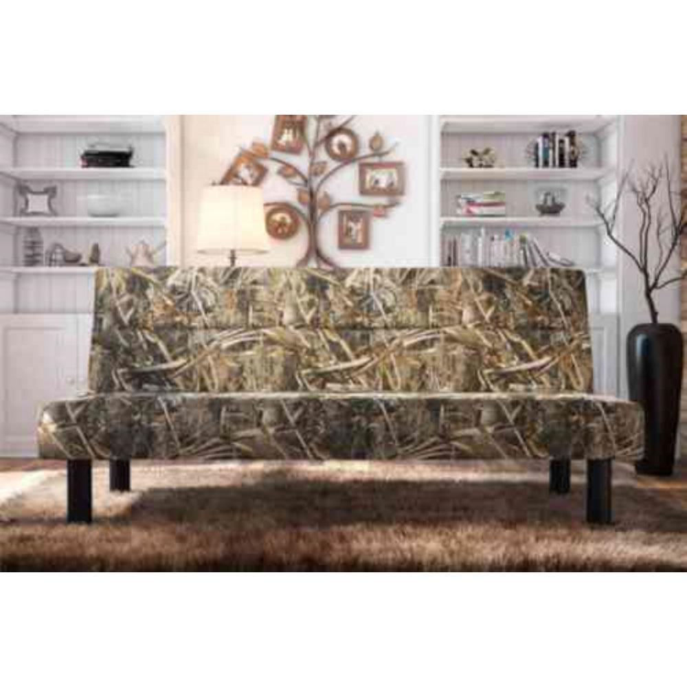 dhp realtree max 5 camouflage futon 2100819   the home depot  rh   homedepot
