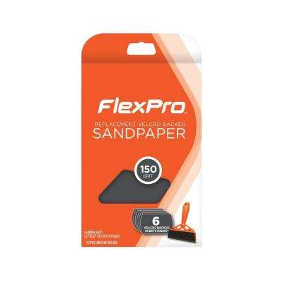 150 Grit Replacement Sandpaper (6-Pack)
