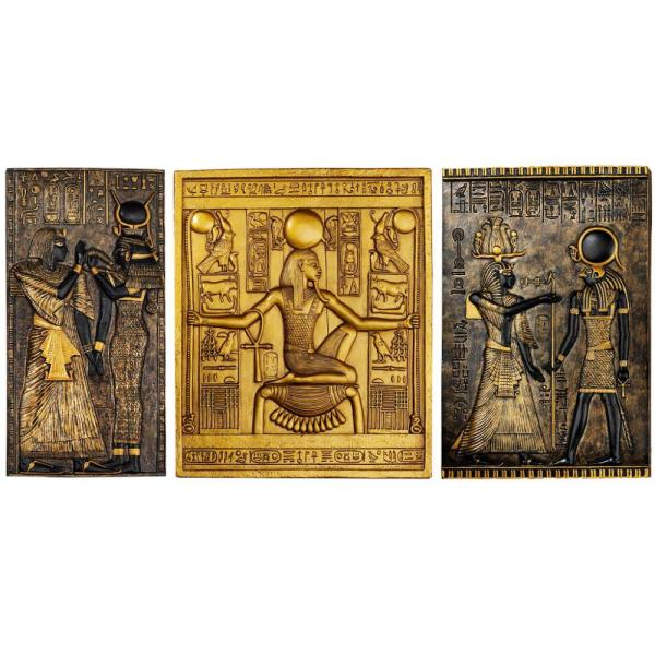 Design Toscano Tutankhamen Egyptian Wall Sculpture