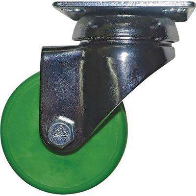 2 in. Kermit Green Swivel Caster with 88 lbs. Load Capacity (4-Pack)