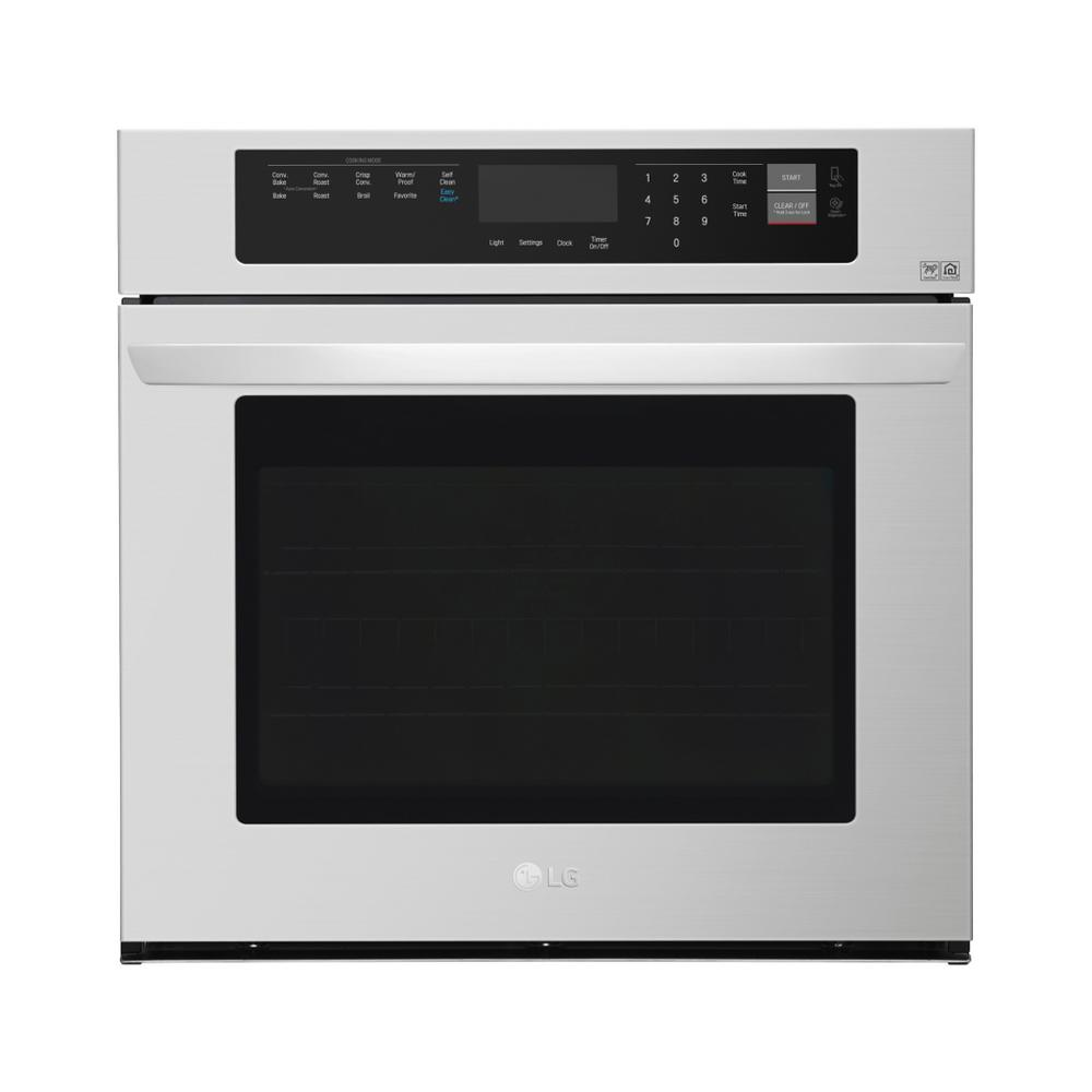 LG Electronics 30 in. Single Electric Wall Oven with Convection and EasyClean in Stainless Steel
