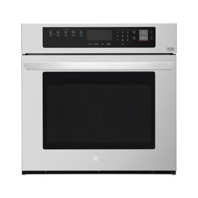 30 in. Single Electric Wall Oven with Convection and EasyClean in Stainless Steel