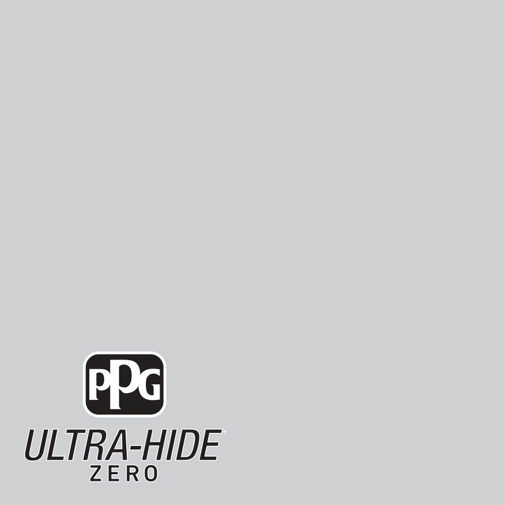 PPG 1 gal. #HDPCN36 Ultra-Hide Zero Silvery Moonlight Eggshell Interior Paint