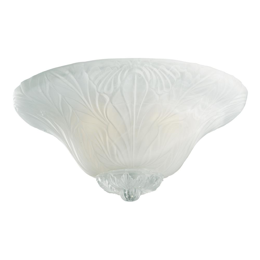 Monte carlo leaf bowl 3 light white faux alabaster ceiling fan light monte carlo leaf bowl 3 light white faux alabaster ceiling fan light kit arubaitofo Image collections