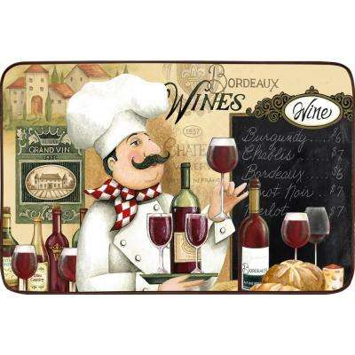 Designer Chef Vino Chef 18 in. x 30 in. Anti-Fatigue Kitchen Mat
