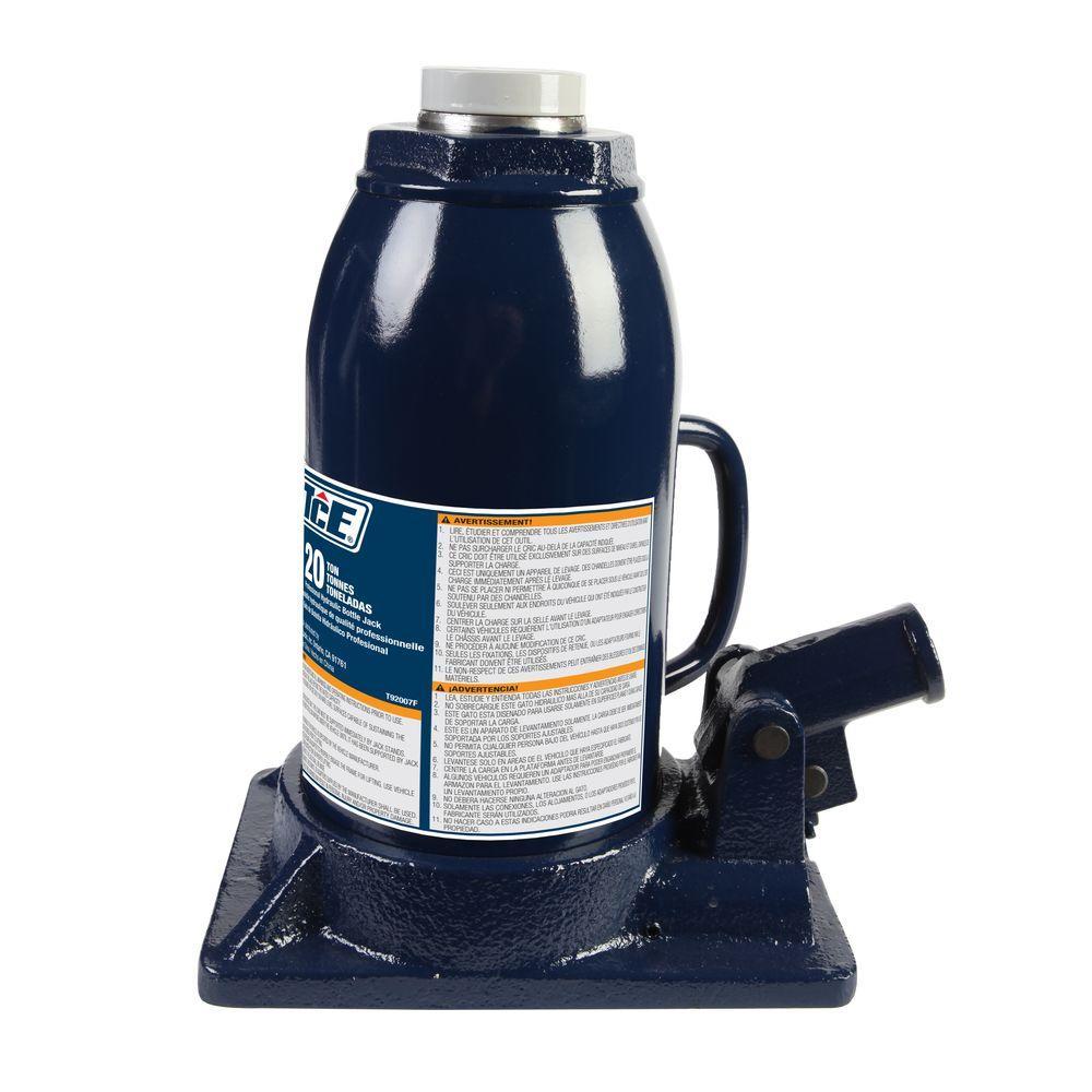 20-Ton Professional Bottle Jack