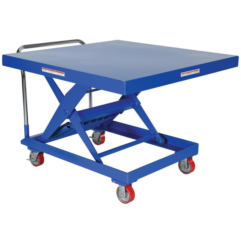 48 in. x 48 in. 2,000 lb. Capacity Auto-Hite Cart