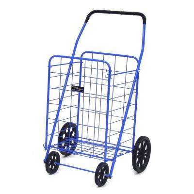 Jumbo-A Shopping Cart in Blue