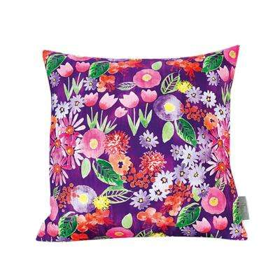 Spring Flowers Multicolor Decorative Pillow