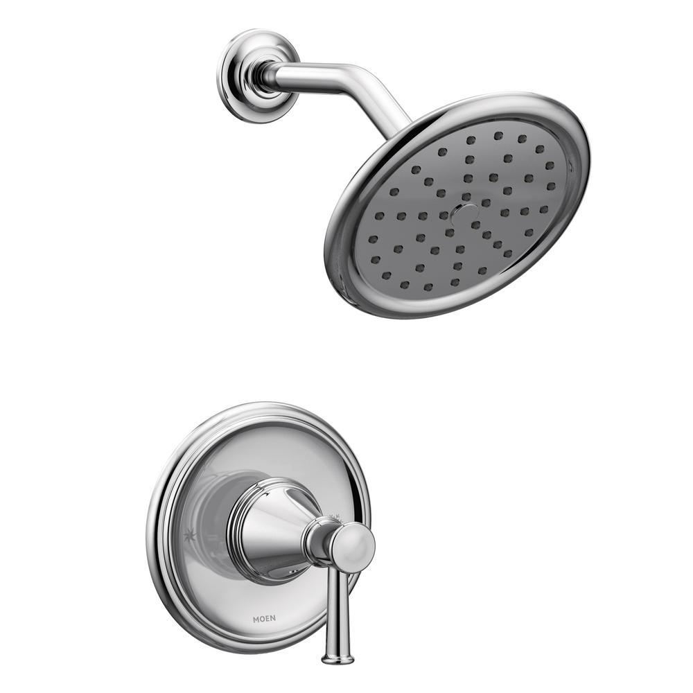 MOEN Belfield 1-Handle Posi-Temp Shower Only Trim Kit in Chrome ...