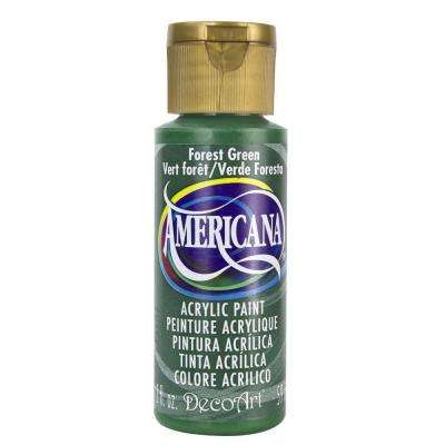 Americana 2 oz. Forest Green Acrylic Paint