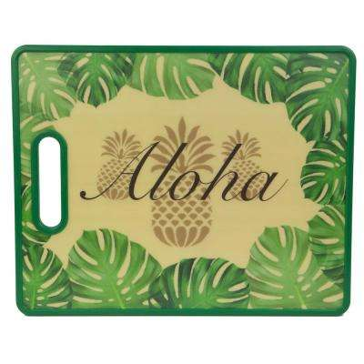 Tropical Collection Aloha Plastic Cutting Board