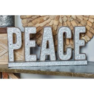 Indoor PEACE LED Decorative Sign