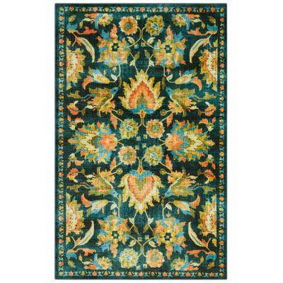 Pallava Denim 10 ft. x 14 ft. Tribal Area Rug