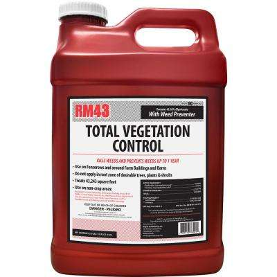 RM43 2.5 gal. Total Vegetation Control, Weed Killer and Preventer Concentrate