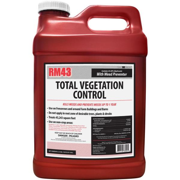 2.5 Gal. Total Vegetation Control, Weed Killer and Preventer Concentrate