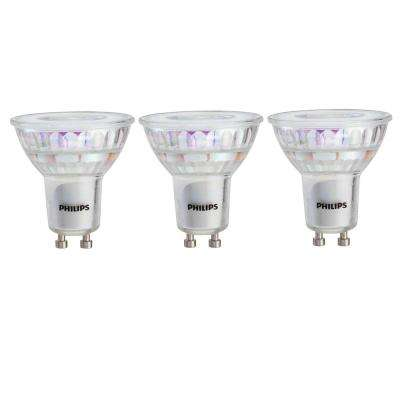 50-Watt Equivalent MR16 and GU10 LED Light Bulb Bright White (3-Pack)