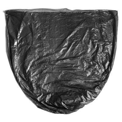 55 Gal. 60 Gal. 22 mic Thick 38 in. x 60 in. Equivalent Black High Density Garbage Trash Bags (150-Count)