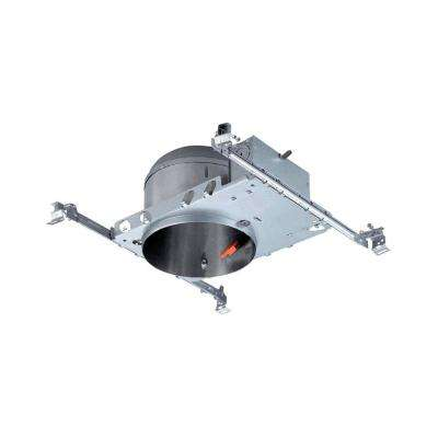6 in. LED Recessed Housing Shallow Height, New Construction Can
