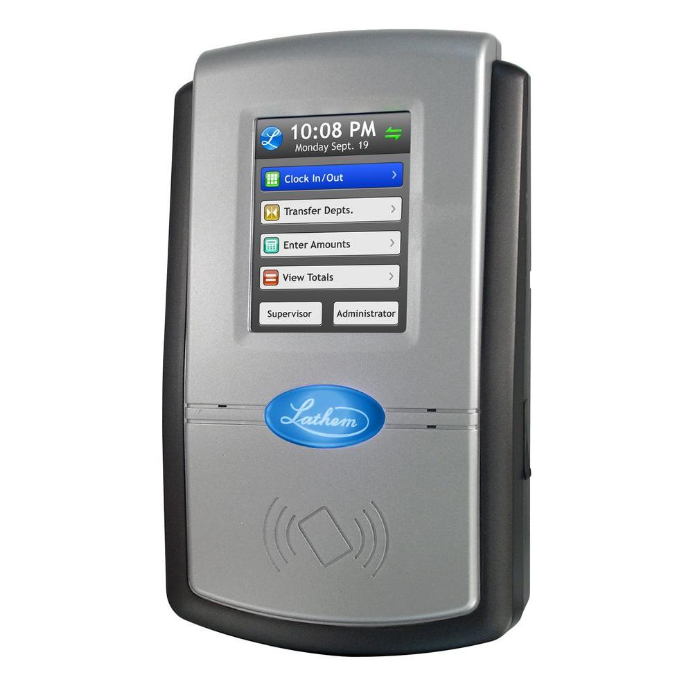 Lathem Touch Screen Time and Attendance System