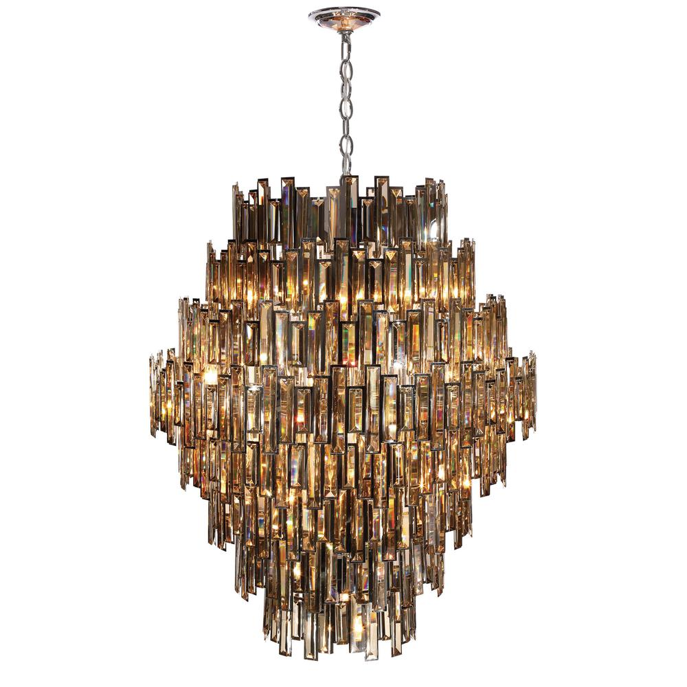 Eurofase vienna collection 28 light chrome chandelier with crystal eurofase vienna collection 28 light chrome chandelier with crystal shade 31889 018 the home depot arubaitofo Images