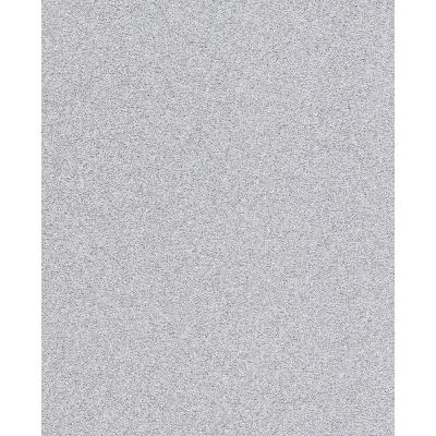 56.4 sq. ft. Sparkle Silver Glitter Wallpaper