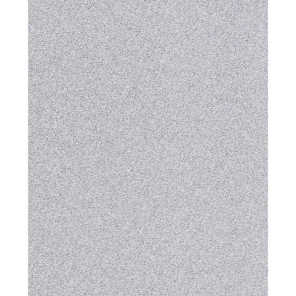 56.4 sq. ft. Sparkle Silver Glitter Wallpaper