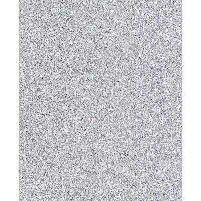 Sparkle Silver Glitter Paper Strippable Roll (Covers 56.4 sq. ft.)