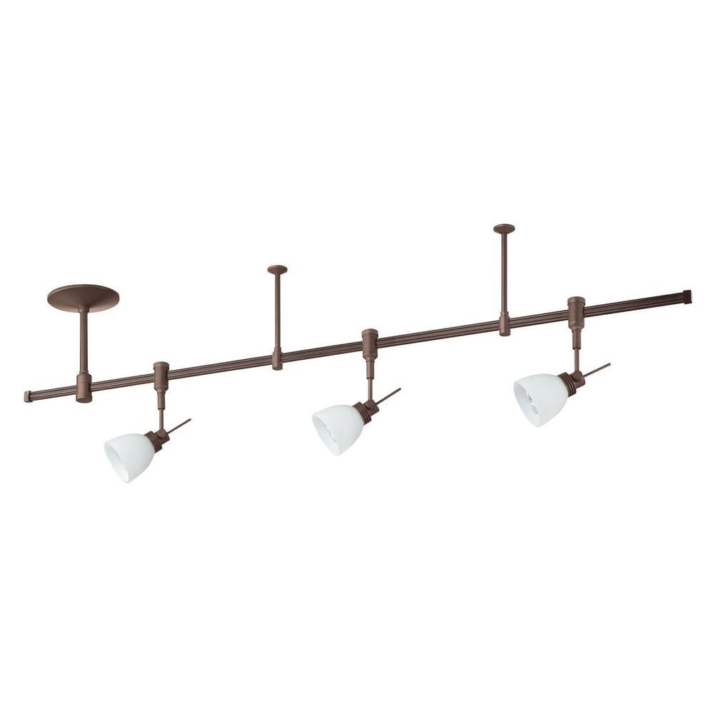 Cassiopeia 3-Light Satin Nickel Track Lighting Kit