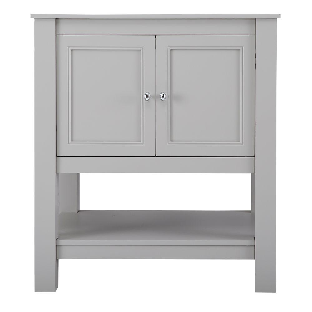 Home Decorators Collection Gazette 30 In W Bath Vanity Cabinet Only Grey