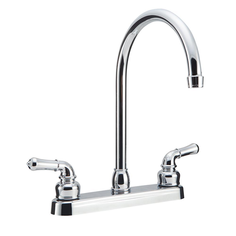 Kitchen Faucet Spout Came Off: Delta Classic Single-Handle Standard Kitchen Faucet With