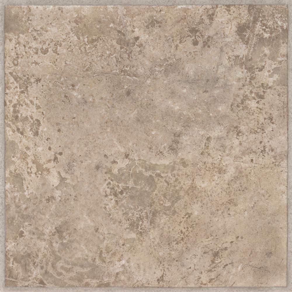 Ridgedale Sand 12 in. x 12 in. Residential Peel and Stick Vinyl Tile Flooring (45 sq. ft. / case)
