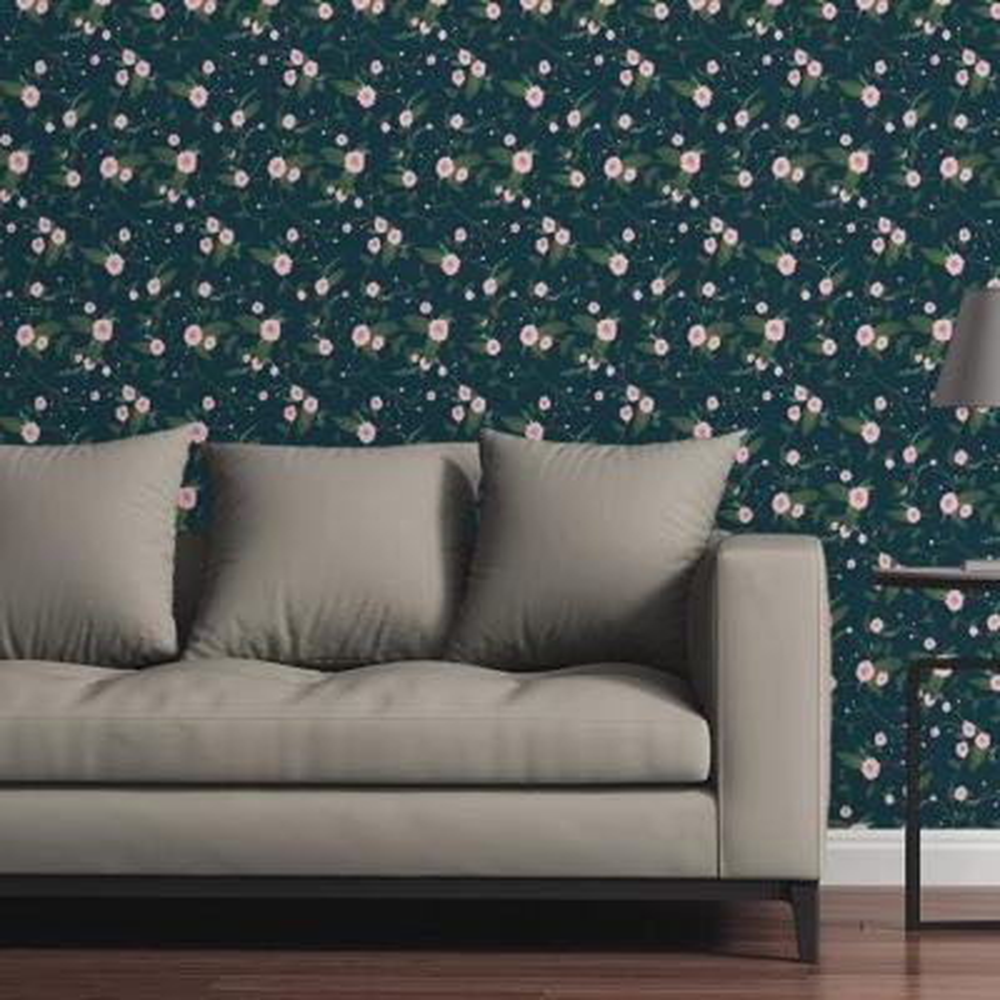 Floral Arrangement by Circle Art Group Removable Wallpaper Panel