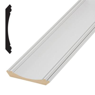 Timeless Craftsman 525 3/4 in. x 5-1/4 in. Primed MDF Crown Moulding