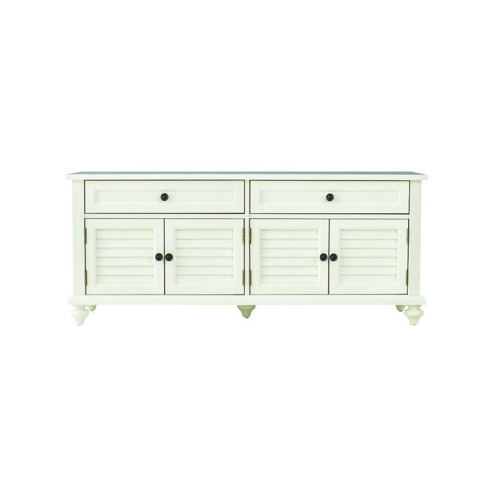 Home Decorators Collection Hamilton Polar White Bench