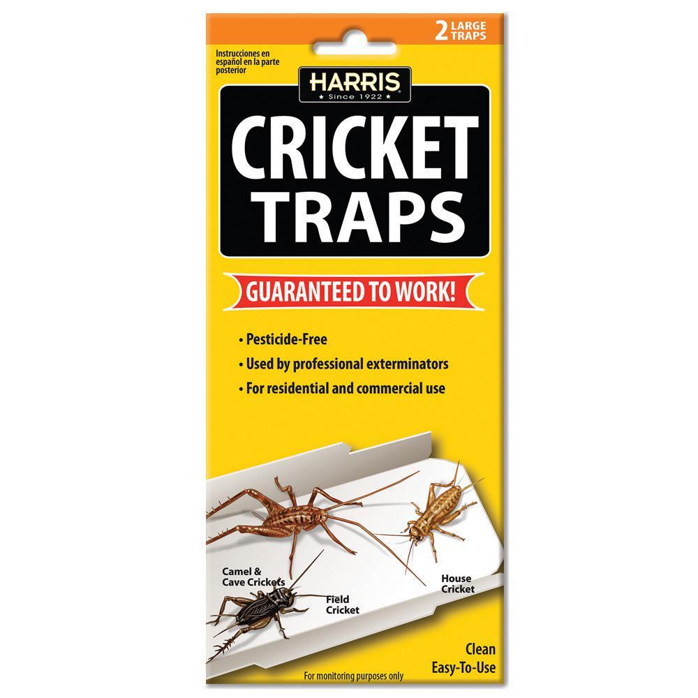Harris Cricket Traps (2 Pack)