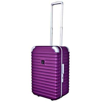 20 in. Seat-On Rolling Carry-On W/Inline Wheels and Aluminum Frame