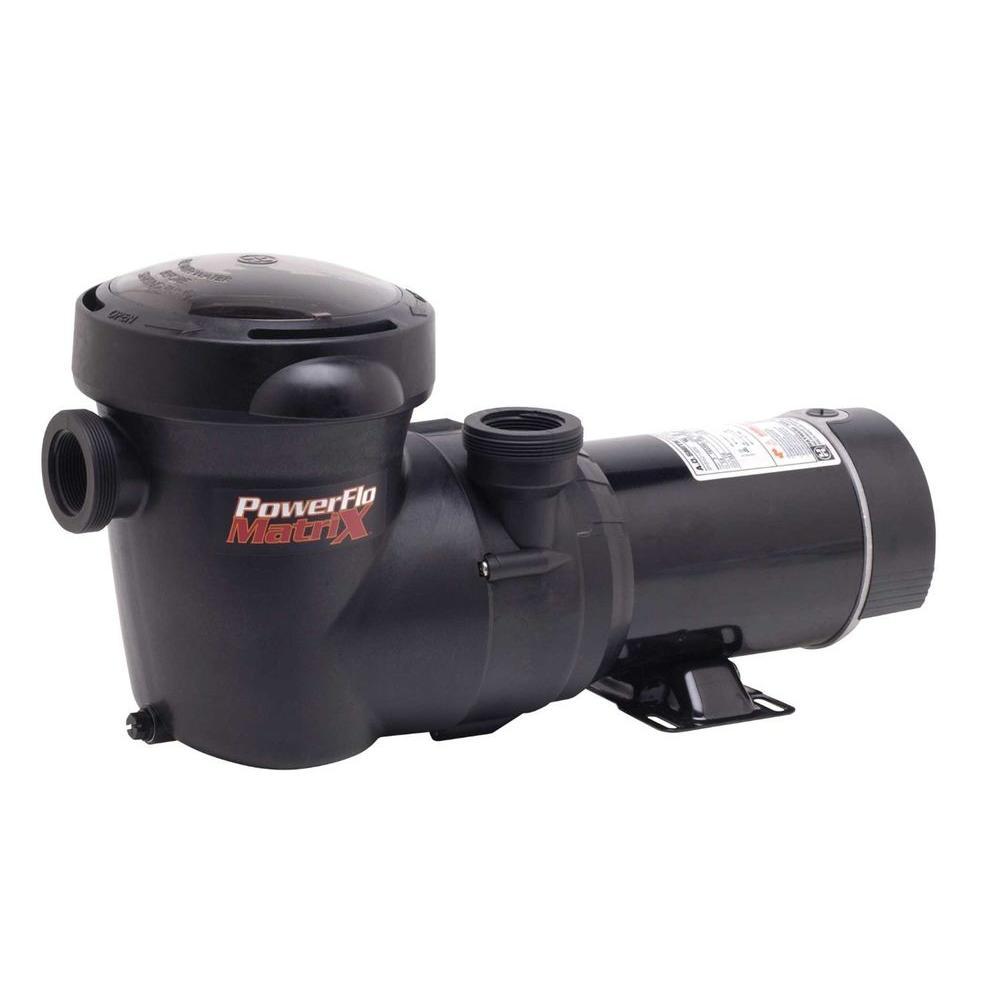 Hayward Matrix 1-1/2 HP Pool Pump with Timer
