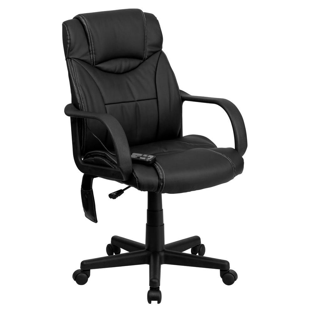 Flash Furniture Black Office/Desk Chair CGA-BT-9193-BL-HD