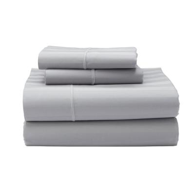 Classic Stripe 350-Thread Count Sateen Sheet Set