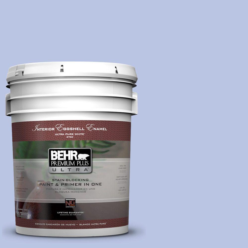 BEHR Premium Plus Ultra 5-gal. #600A-3 California Lilac Eggshell Enamel Interior Paint